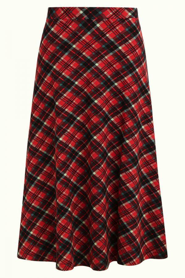 King Louie: Juno Midi Skirt Chatham