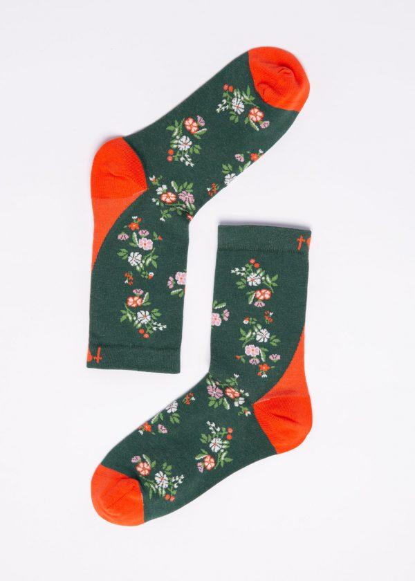 Blutsgeschwister: Sokken - Flower Feet