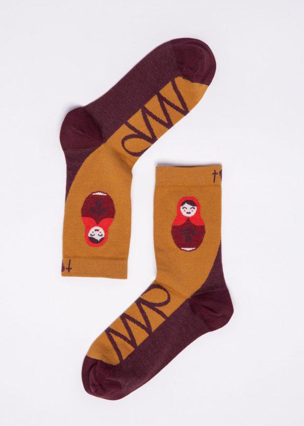 Blutsgeschwister: Sokken - Masha Matroschka