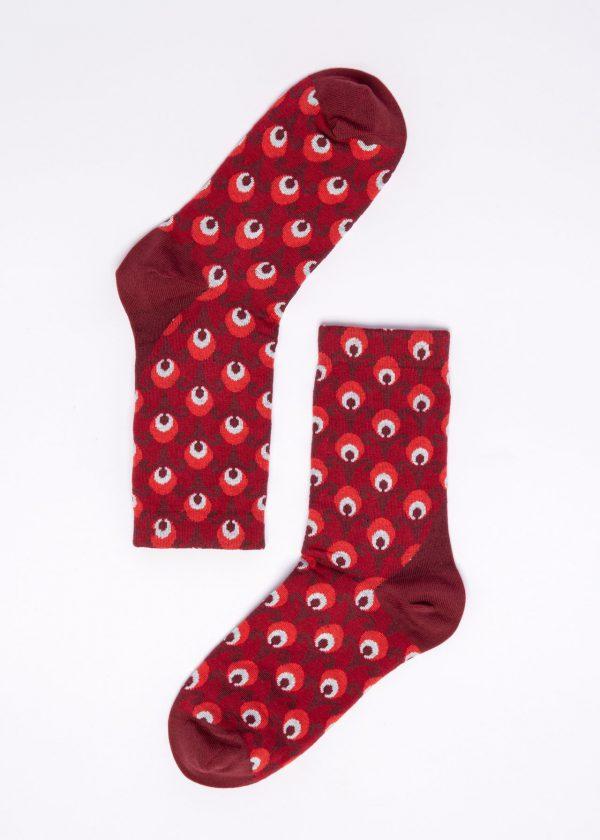 Blutsgeschwister: Sokken - Red Retro