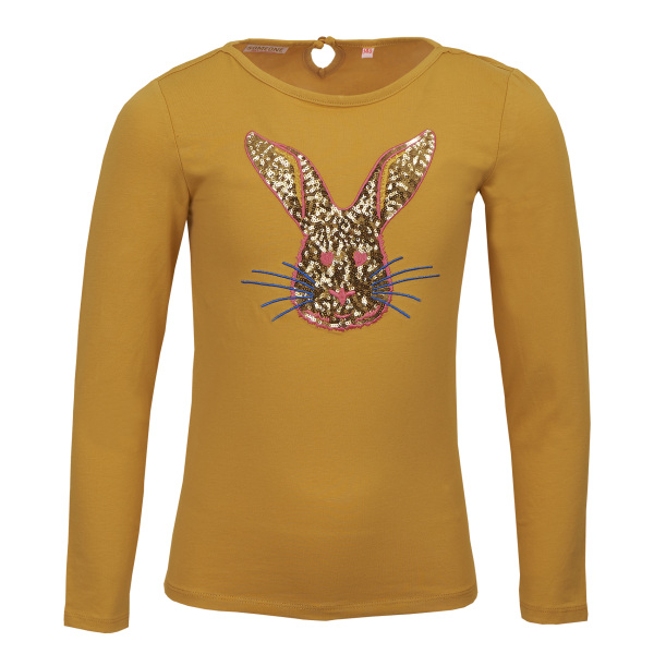 Someone: Shirt ANIMO oker