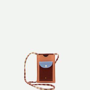 Sticky Lemon: Phone pouch xl | cherry red + sunny blue + berry swirl