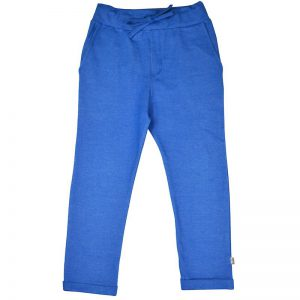 Ba*Ba Kidswear: Baggy pants blauw BAGPANT/MBLU/W21