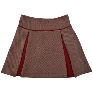 Ba*Ba Kidswear: Chloe skirt W21 CHLOSKIRT/JDIAG/W21
