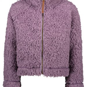 Like Flo: Vest teddy fur - Lila