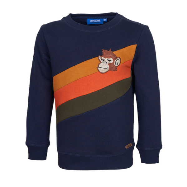 Someone: Sweater SURVIVE navy