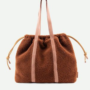 The Sticky Sis club: tote bag | teddy | pecan brown
