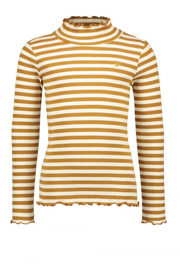 Like FLO: T-shirt - Strepen F108-5425_435