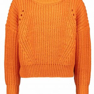 Street Called Madison: Knit sweater BRIGHTY - oranje