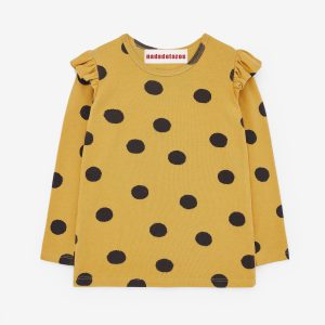 Nadadelazos: T-Shirt Dots Yellow & Black